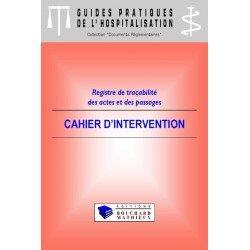 Cahier d'intervention (modèle 1)
