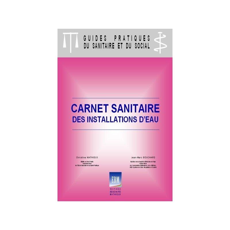 Carnet sanitaire des installations d 39 eau for Carnet sanitaire piscine