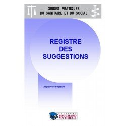 Registre des suggestions