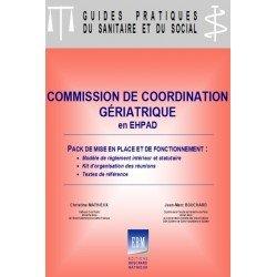 Commission de coordination gériatrique : pack de mise en place et de fonctionnement