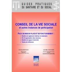 Conseil de la vie sociale : pack de mise en place et de fonctionnement
