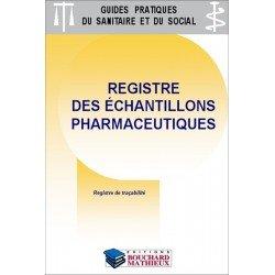 Préparations pharmaceutiques :  Registre des échantillons
