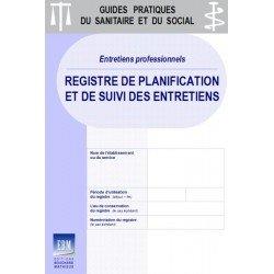 Entretiens professionnels : Registre de planification et de suivi des entretiens