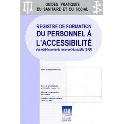 Registre de formation du personnel à l'accessibilité des ERP