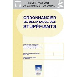 Stupéfiants : Ordonnancier